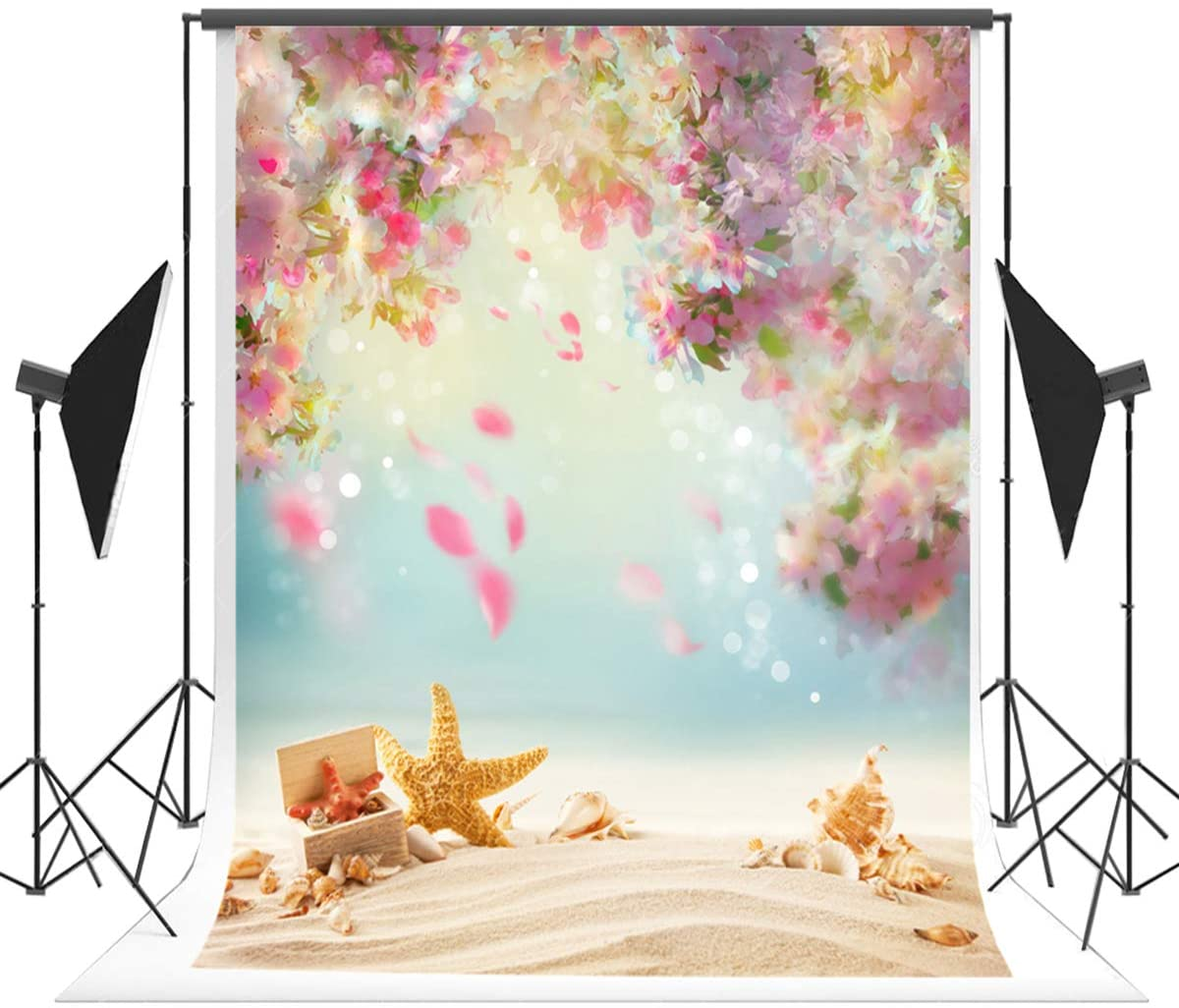 Amazoncom 5x7ft150x220cm Summer Photography Background Beach 1200x1026