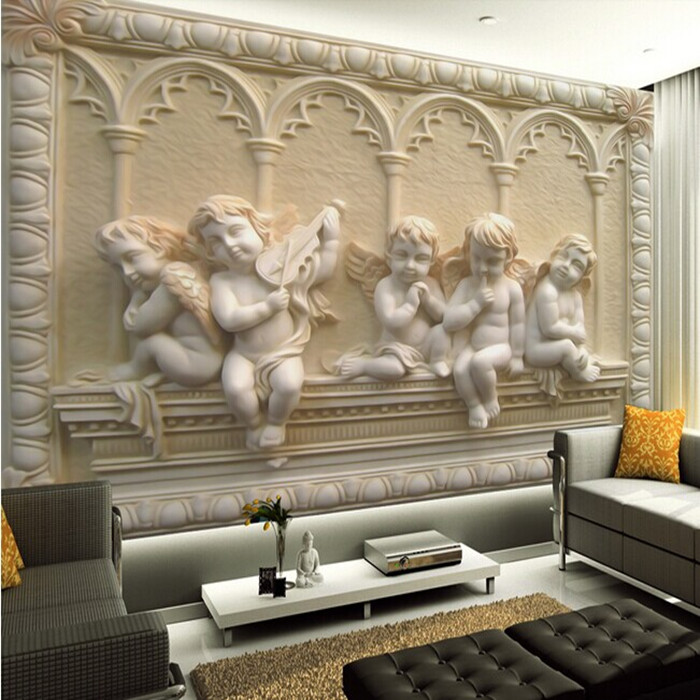 2014 Sale Limited Tapete European Style Jade 3d Wallpaper Stereoscopic 700x700