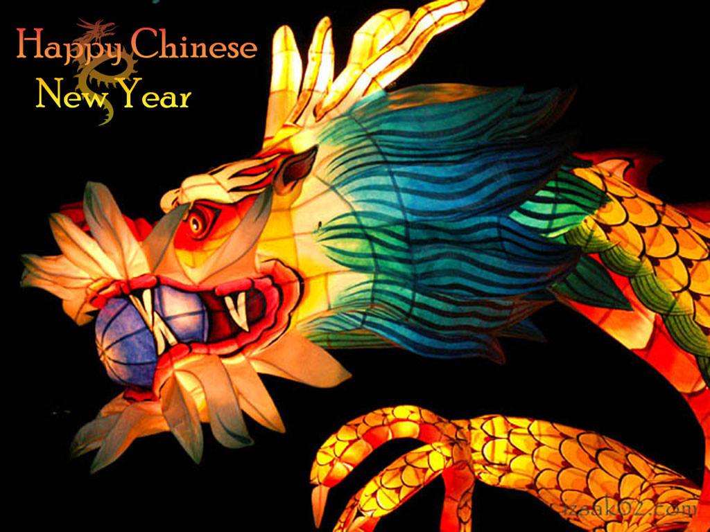 Happy Chinese New Year and Happy Holidays 2012 1024x768