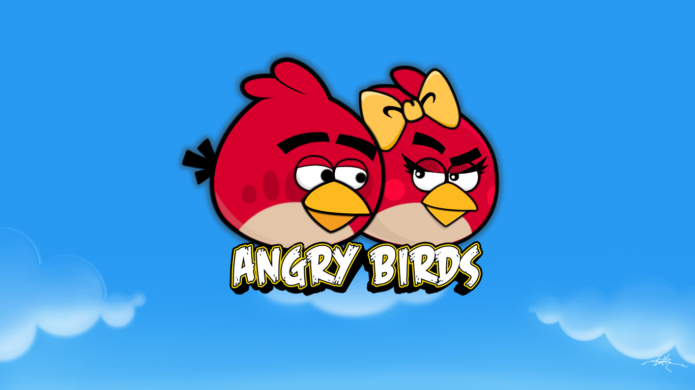 Angry Birds Theme   Popular Windows Themes 1366x768