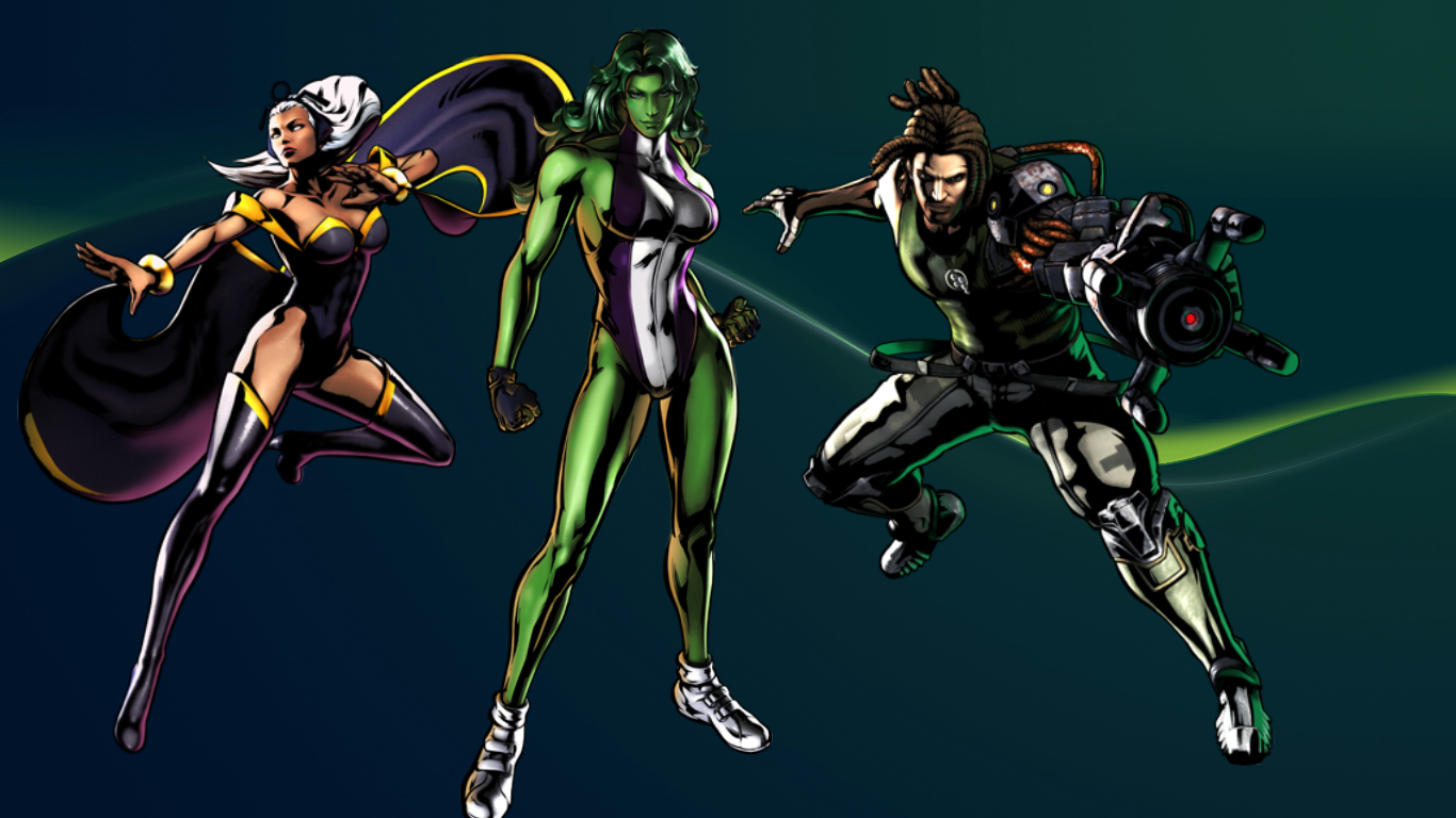 She Hulk Wallpaper 1366x768