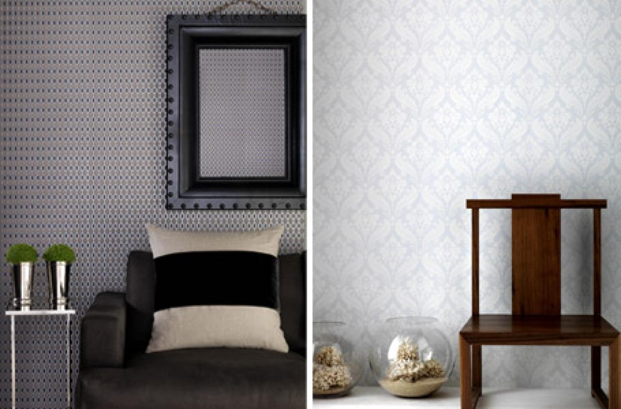 Kelly hoppen s plain neutral wallpaper range for b q 1280x843