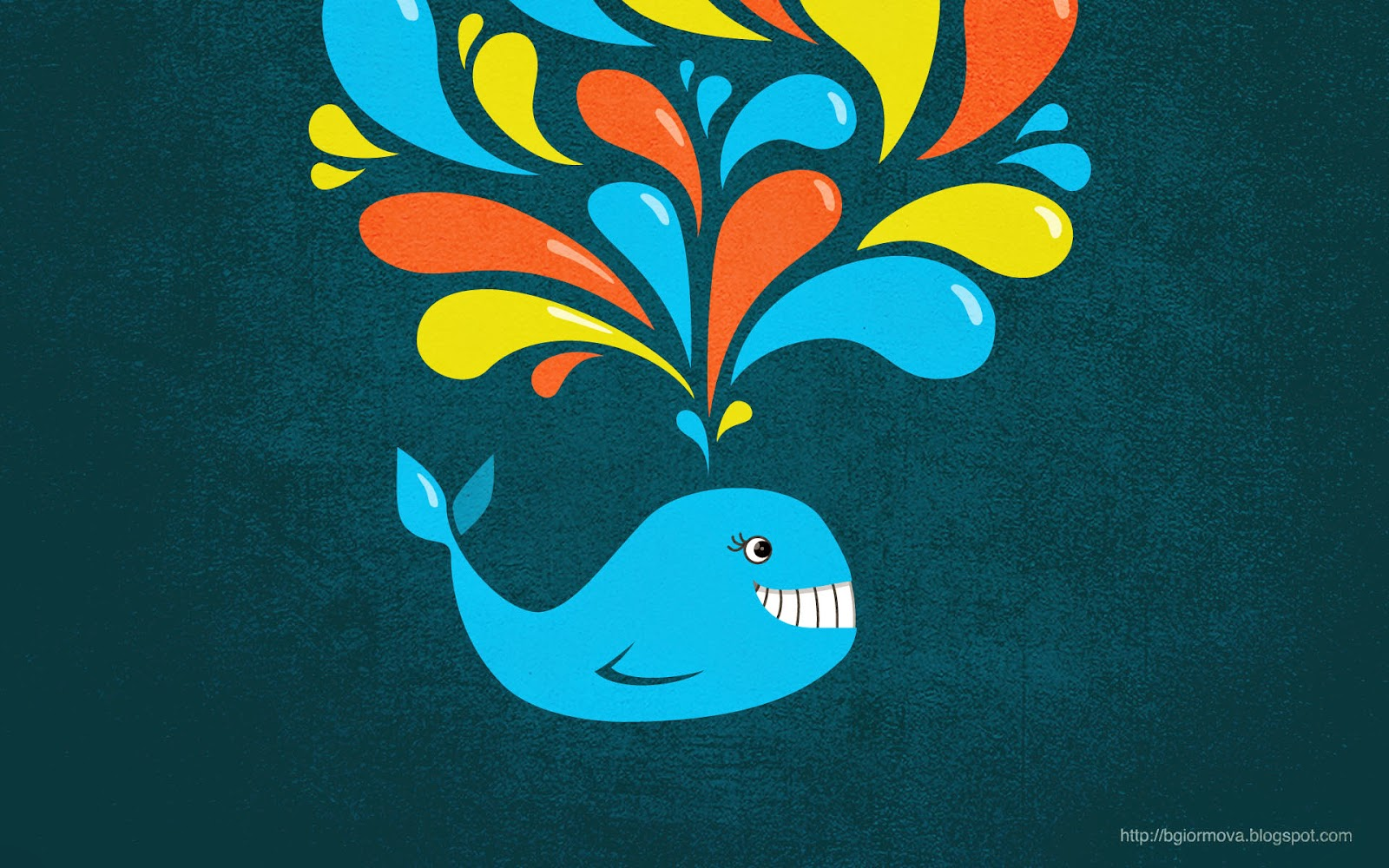Cute Whale Wallpaper For IPhone