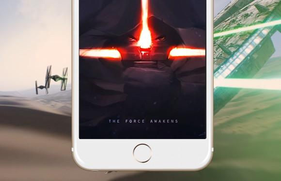 Star Wars The Force Awakens IPhone Wallpaper