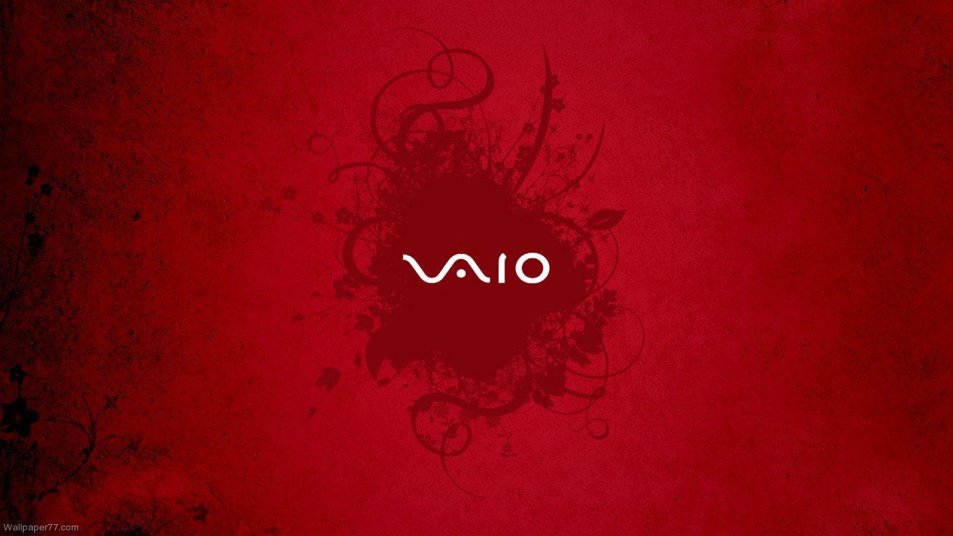 vaio red wallpaper by - photo #3