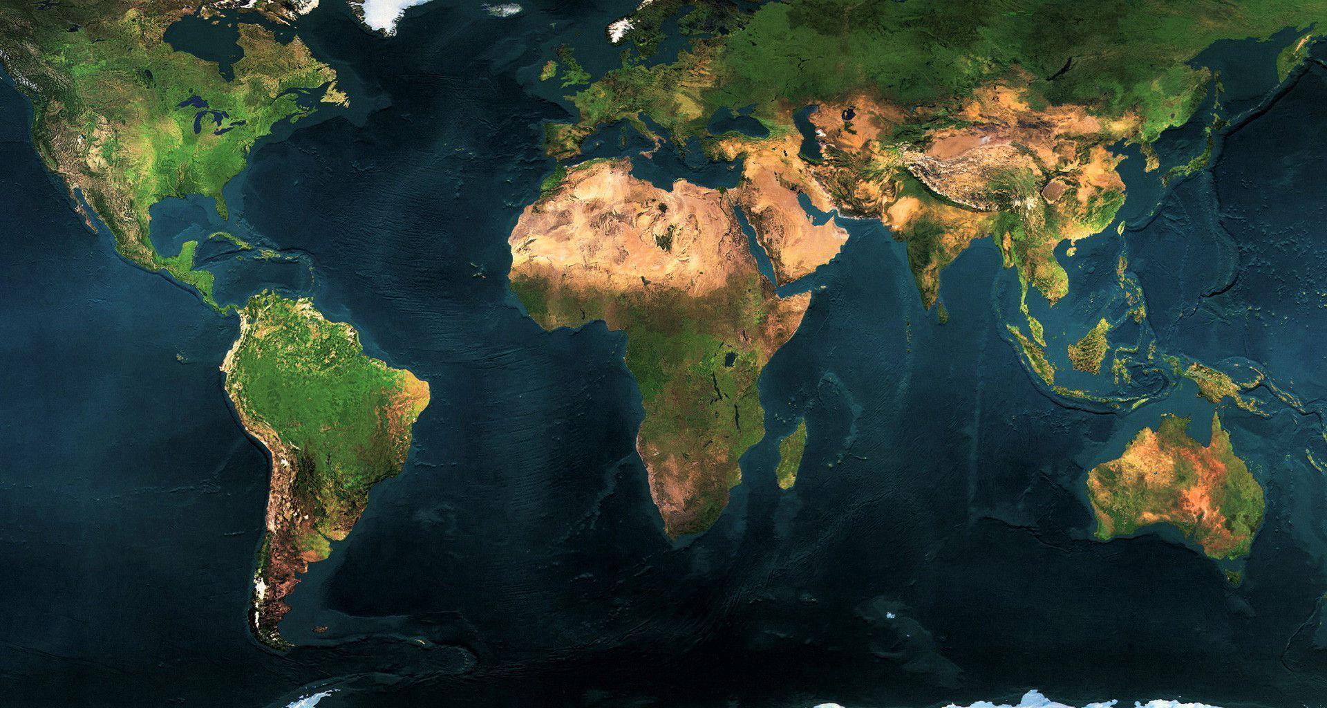 World Map Wallpapers High Resolution 1920x1024