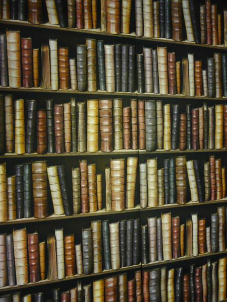 Fake Bookcase Wallpaper Uk Amazing Bookcases