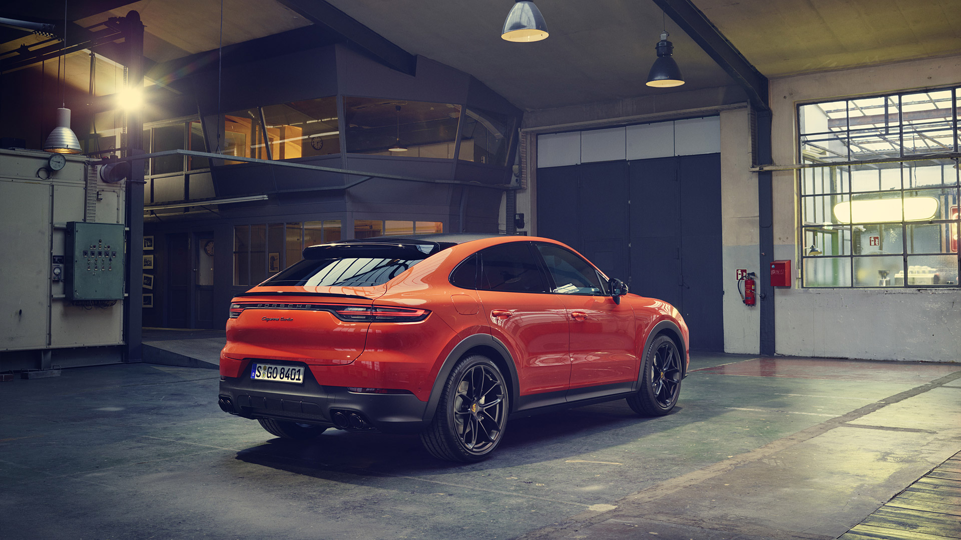 2020 Porsche Cayenne Turbo Coupe Wallpapers HD Images   WSupercars 1920x1080