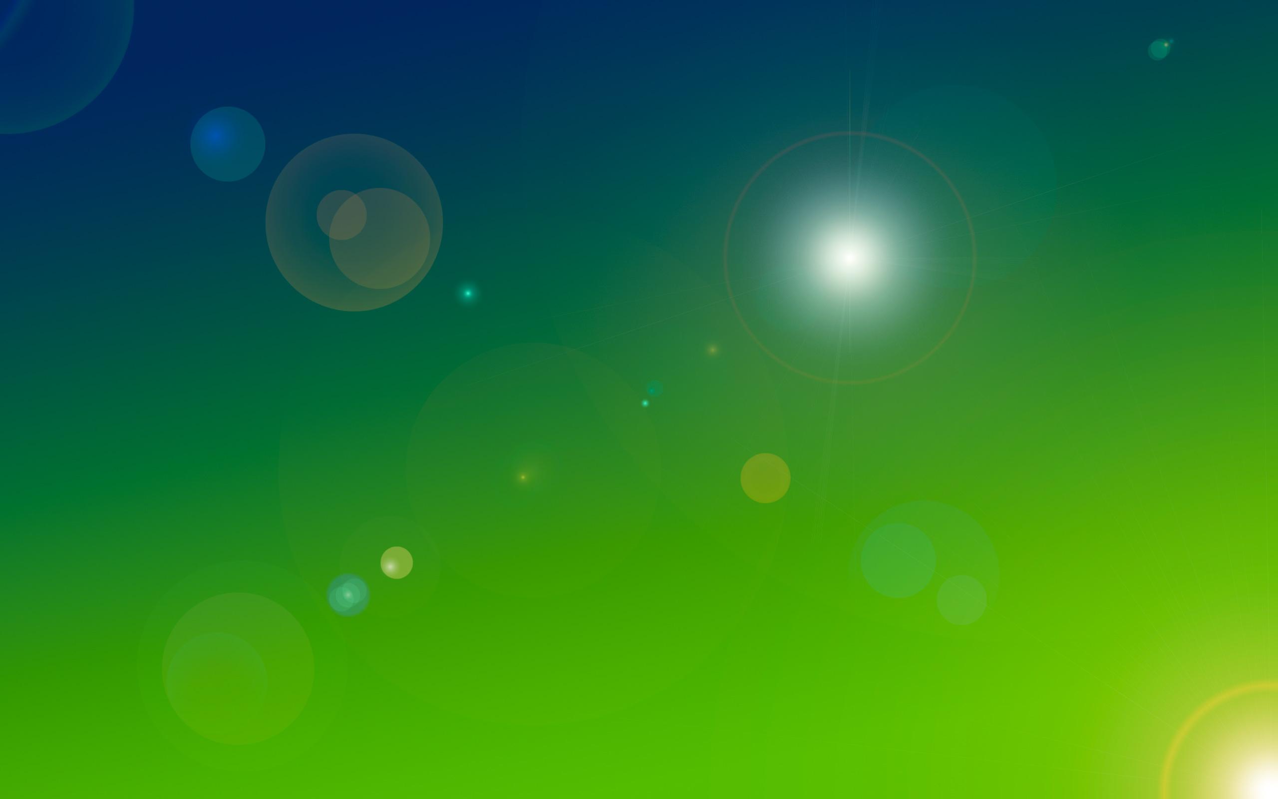 Blue Green Wallpaper 2560x1600