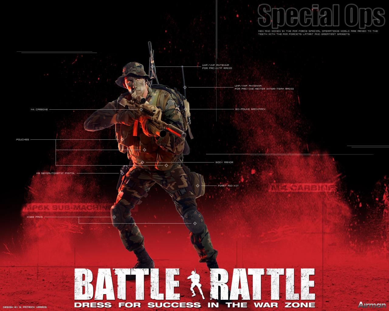 Battle Rattle Wallpaper 3 1280x1024