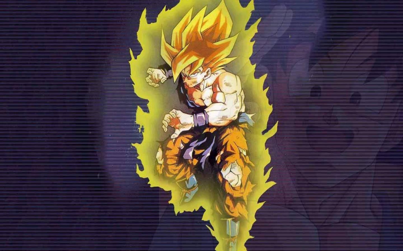 Dragon Ball Z Goku Super Saiyan Wallpaper Hd Desktop Wallpapers 1440x900