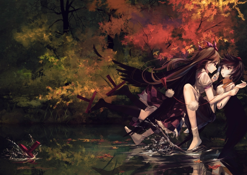 1806 Category Art Hd Wallpapers Subcategory Touhou Hd Wallpapers 800x565