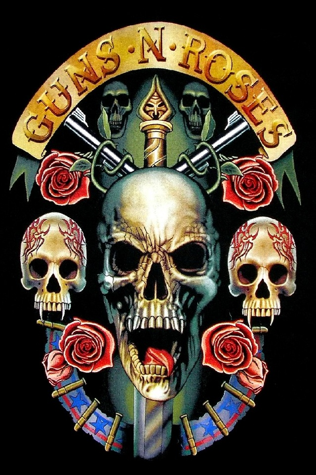 free live skull wallpapers for android