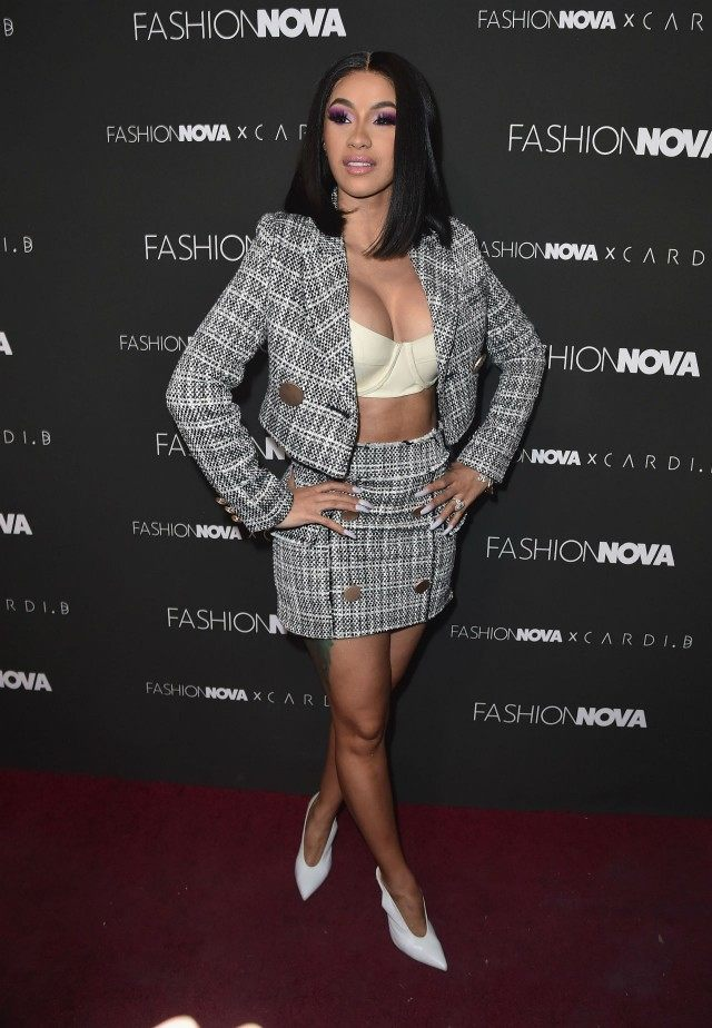 Cardi B Shares the Heartbreaking Reason Shes Scared to Post 640x924