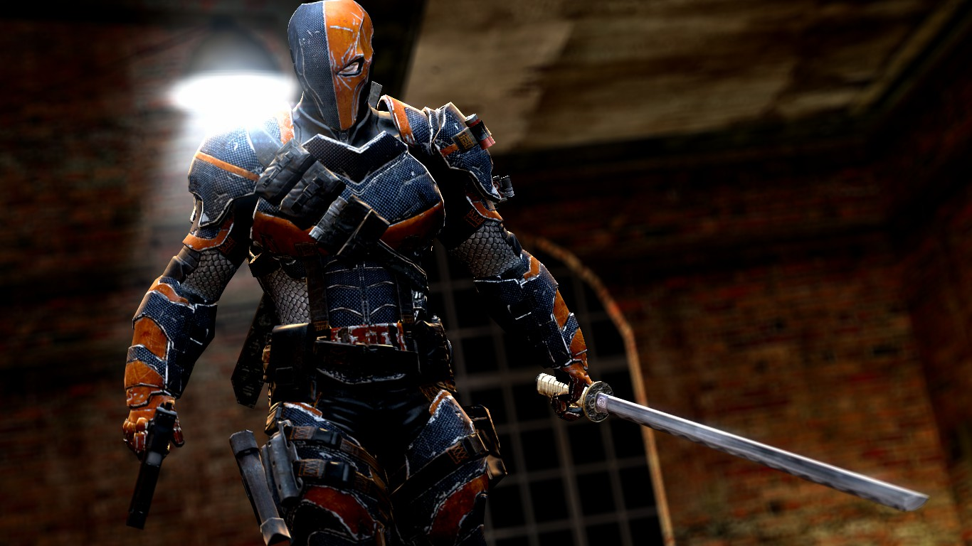 Deathstroke by dumbass333 1366x768