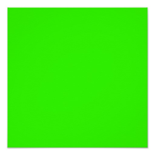 Neon Green Solid Background Color Lime Bright Vert Poster Zazzle 512x512
