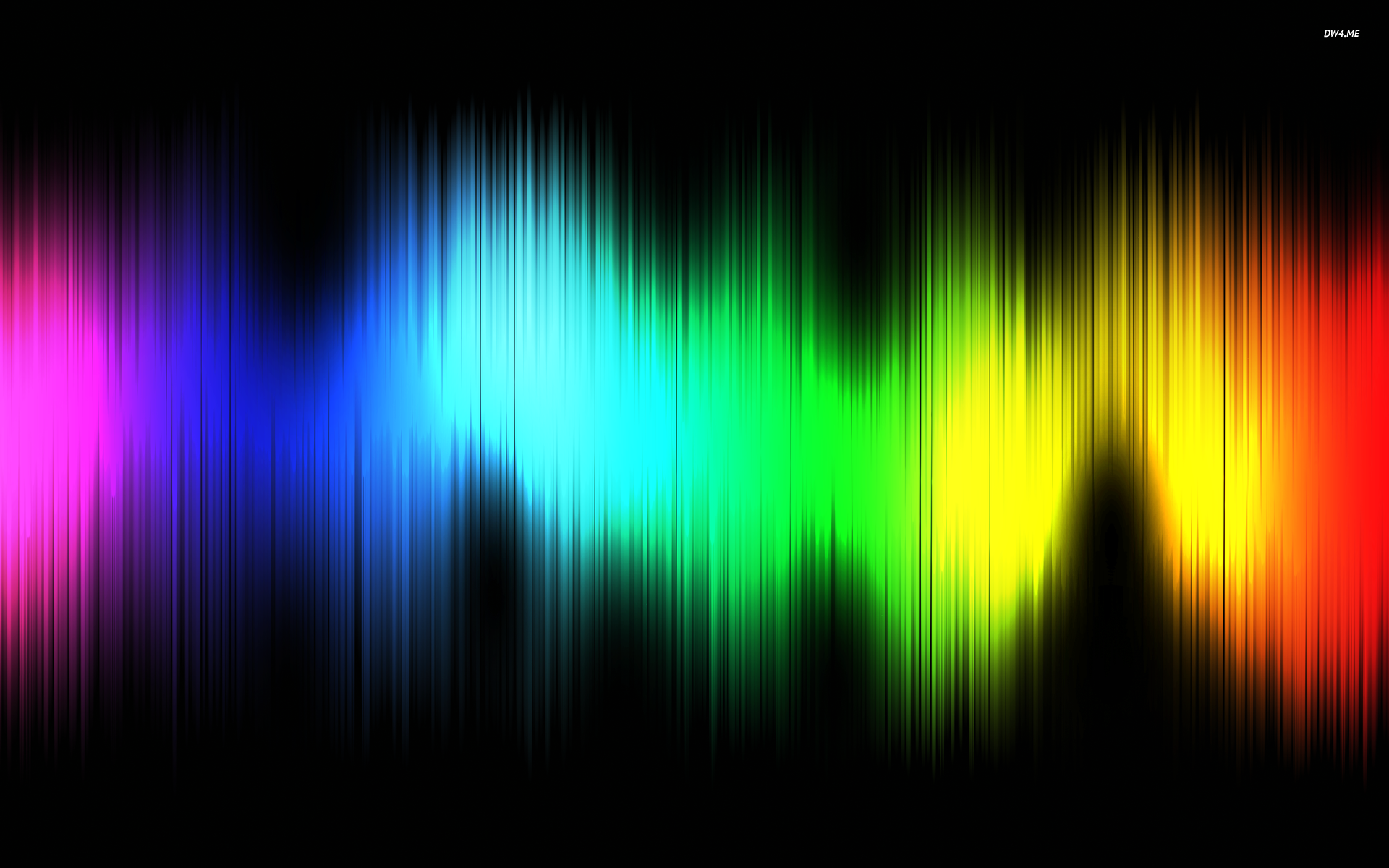 Colorful sound waves wallpaper   Digital Art wallpapers 1920x1200