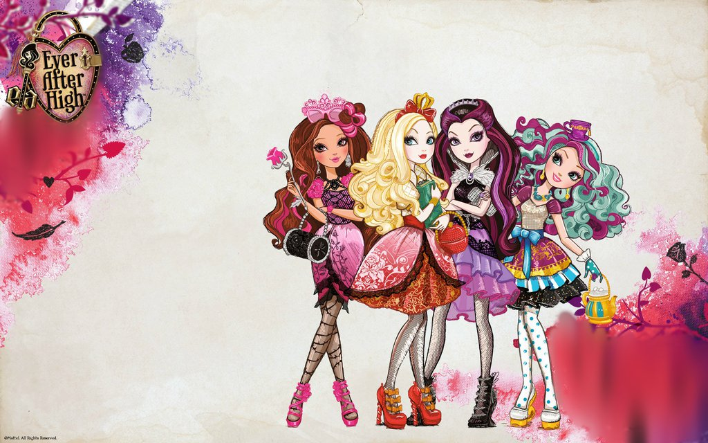 Edited   Ever After High background widescreen by GirlsGoneWild101 1024x640