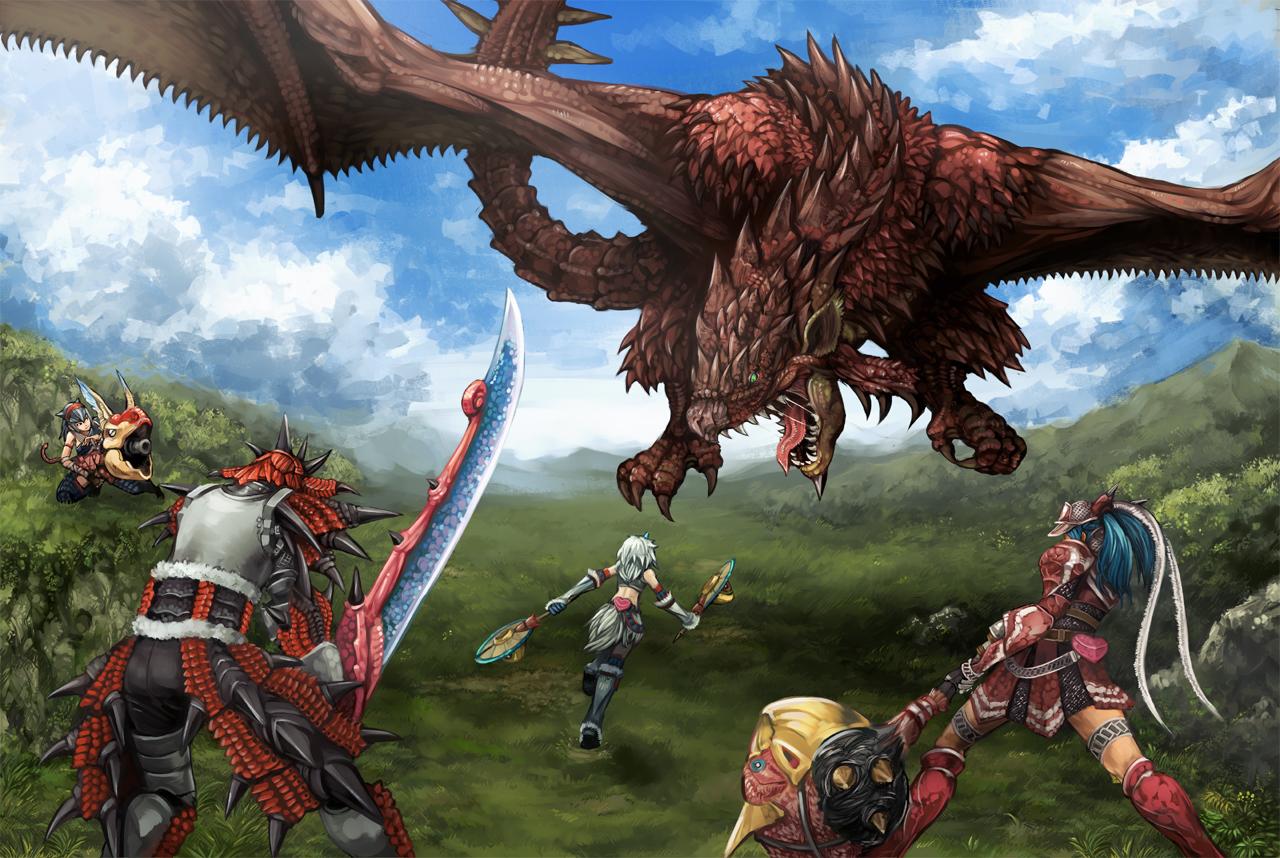 Free Download Game Wallpapers Monster Hunter Game Wallpaper