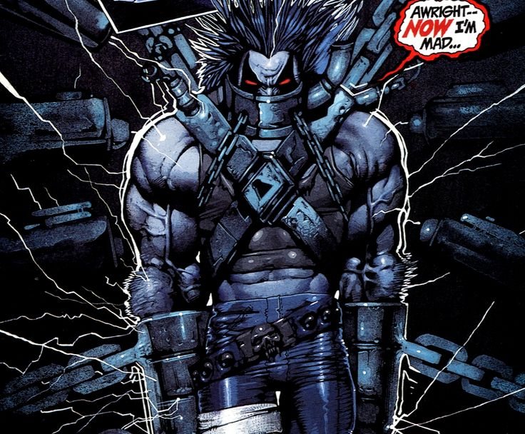 and Very Pissed Comics DC Lobo Badass Lobo DC Pinterest 736x608