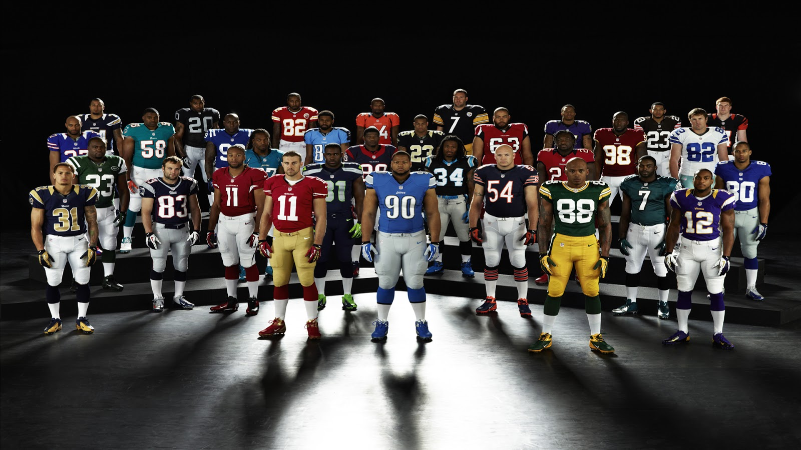 Nfl Football Players Wallpapers Images amp Pictures   Becuo 1600x900
