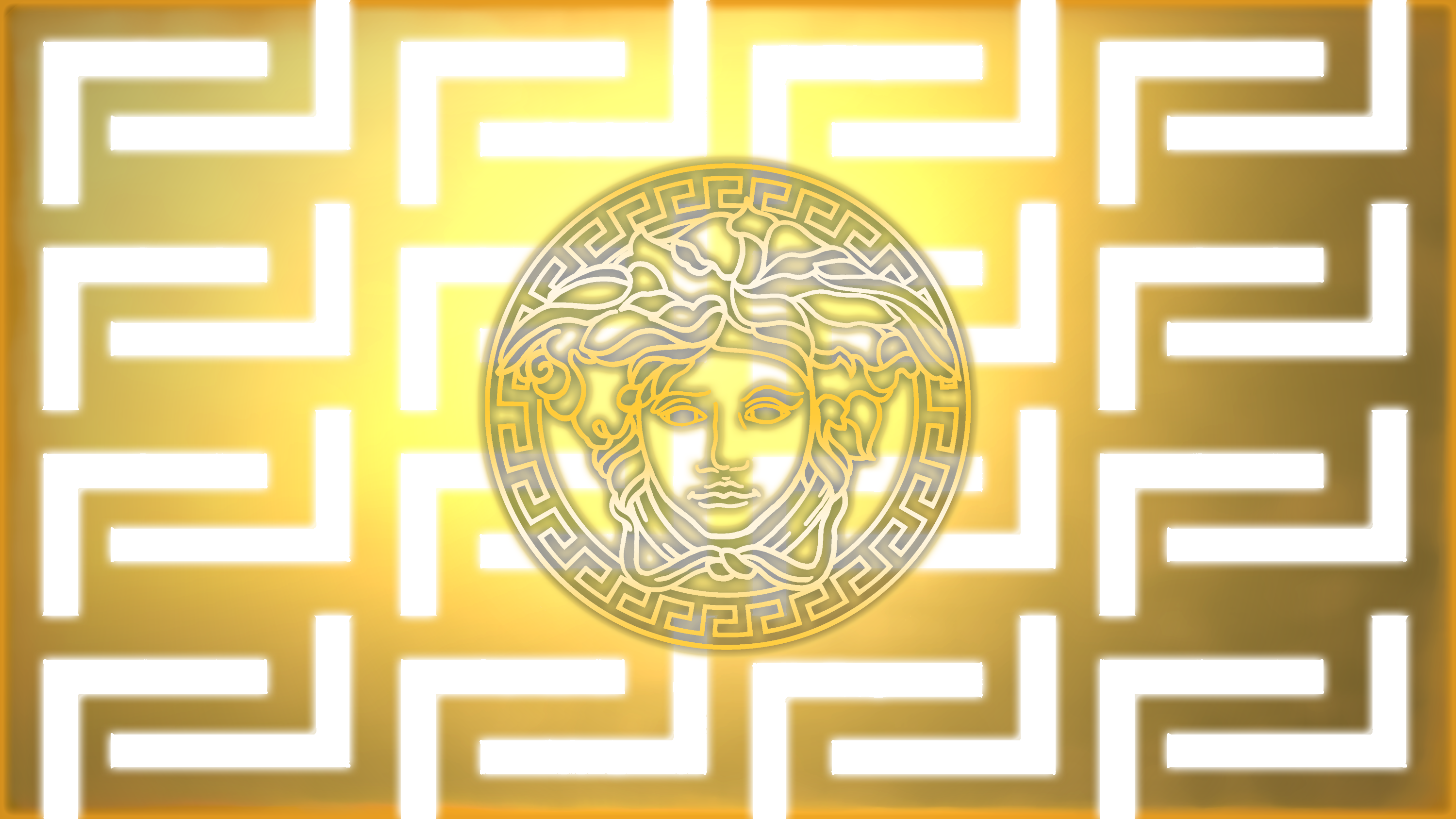 versace wallpaper by thacreator23 customization wallpaper vector 2014 3000x1687