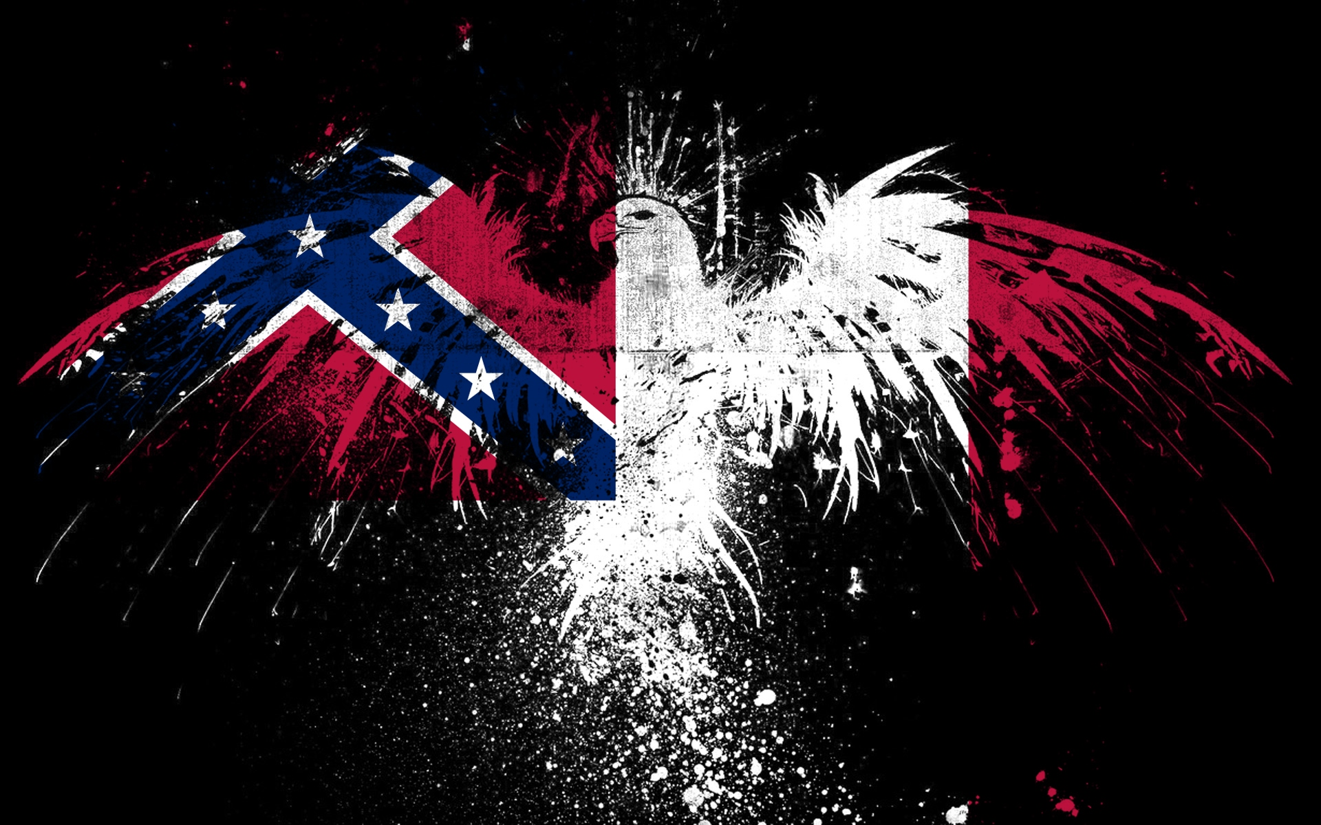 confederate battle flag ftfy 3rd national of HD Wallpaper 1920x1200