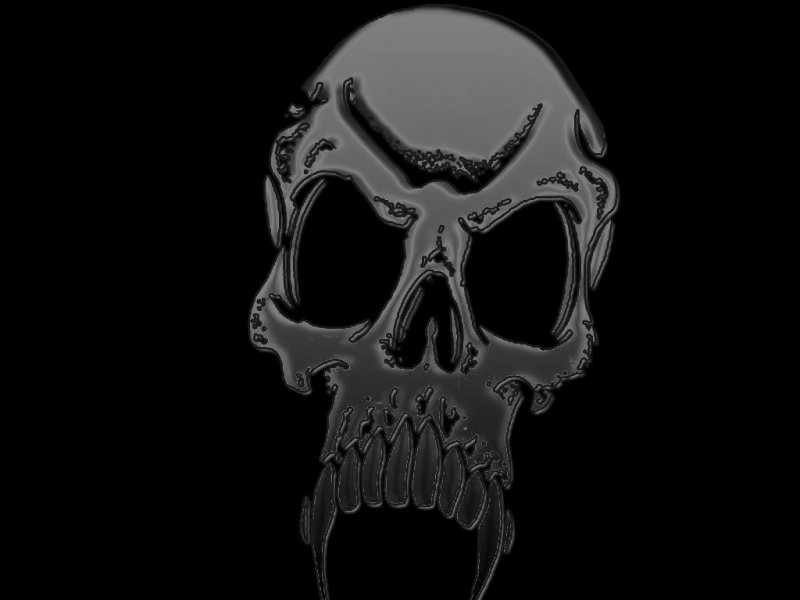 Scary Skull Wallpapers 800x600