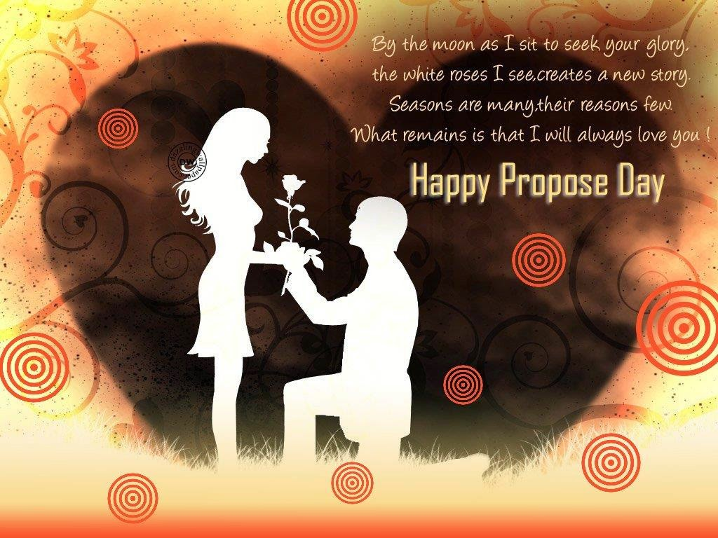 Happy Propose day Images Pics Photos Wallpapers 1024x768