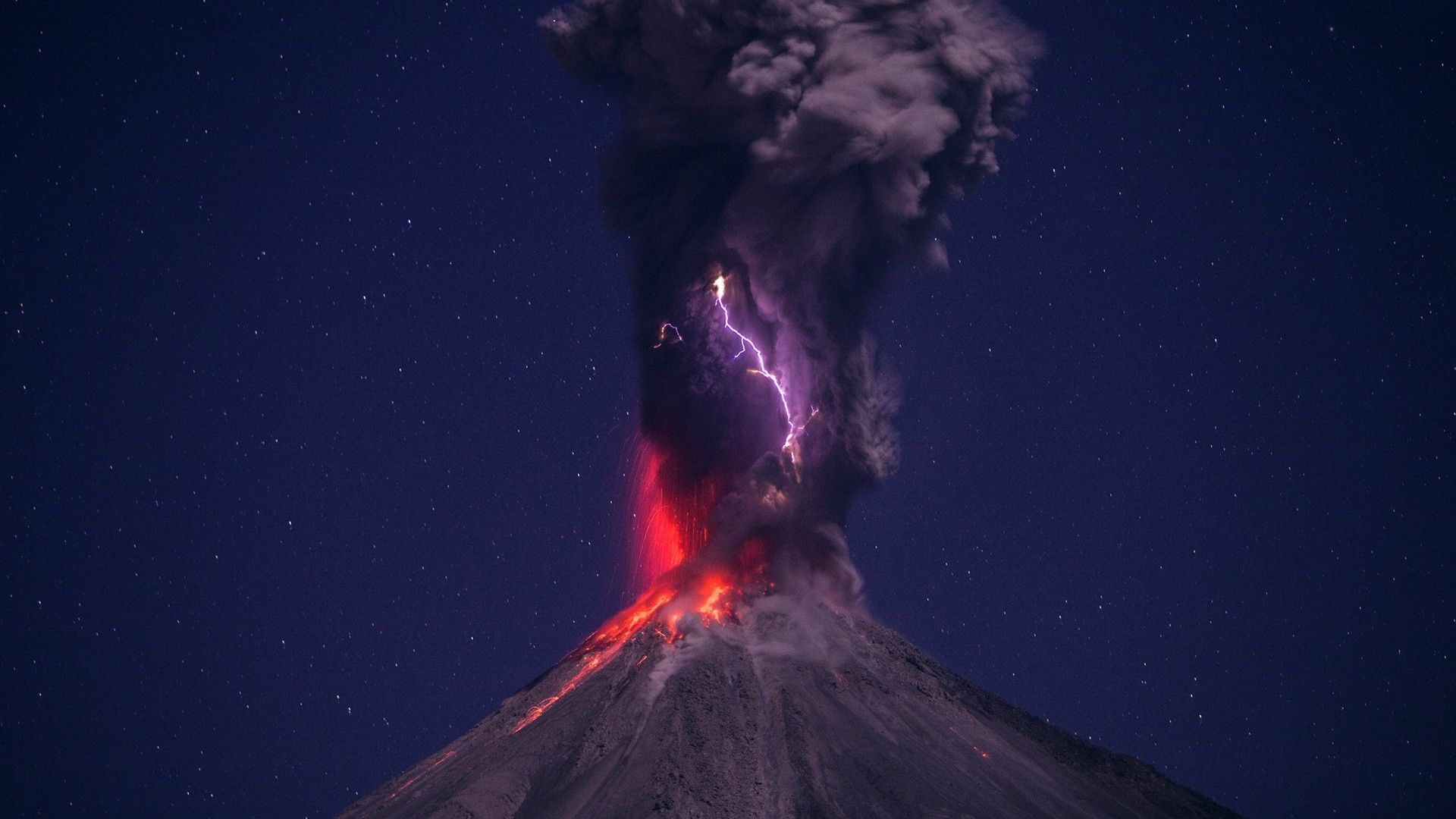 Download hd wallpapers of 205539 nature Landscape Volcano Lava 1920x1080
