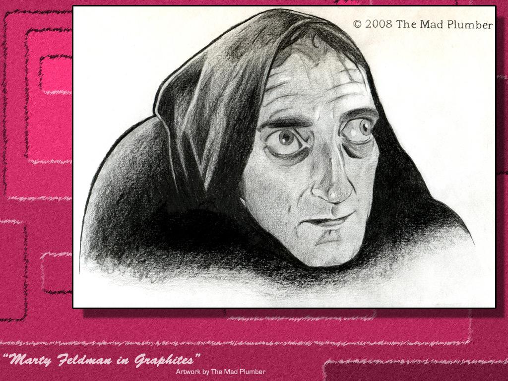 Marty Feldman in Graphites Wallpaper Edition by MadPlumber 1024x768