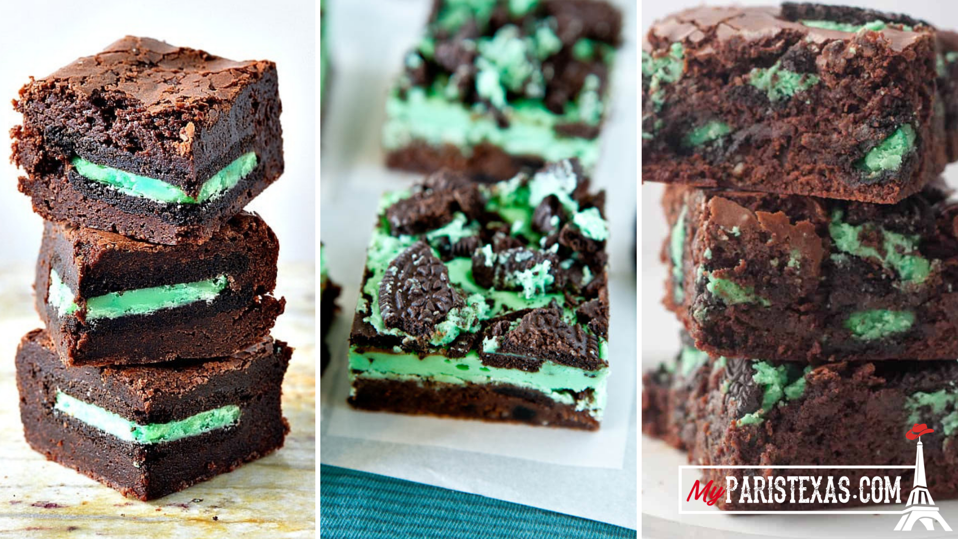 Ultimate Mint Oreo Brownies for St Patricks Day   MyParisTexas 1920x1080