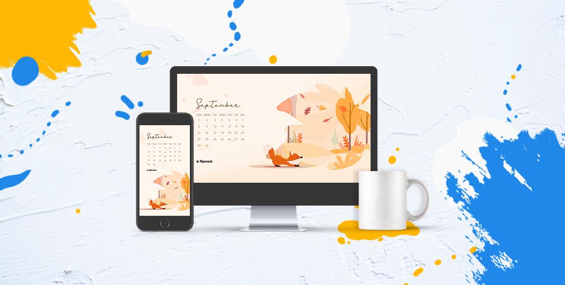 September 2019 wallpaper calendars   Flipsnack Blog 1110x560