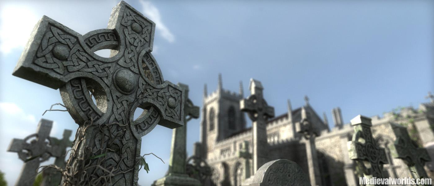Celtic Cross Wallpaper