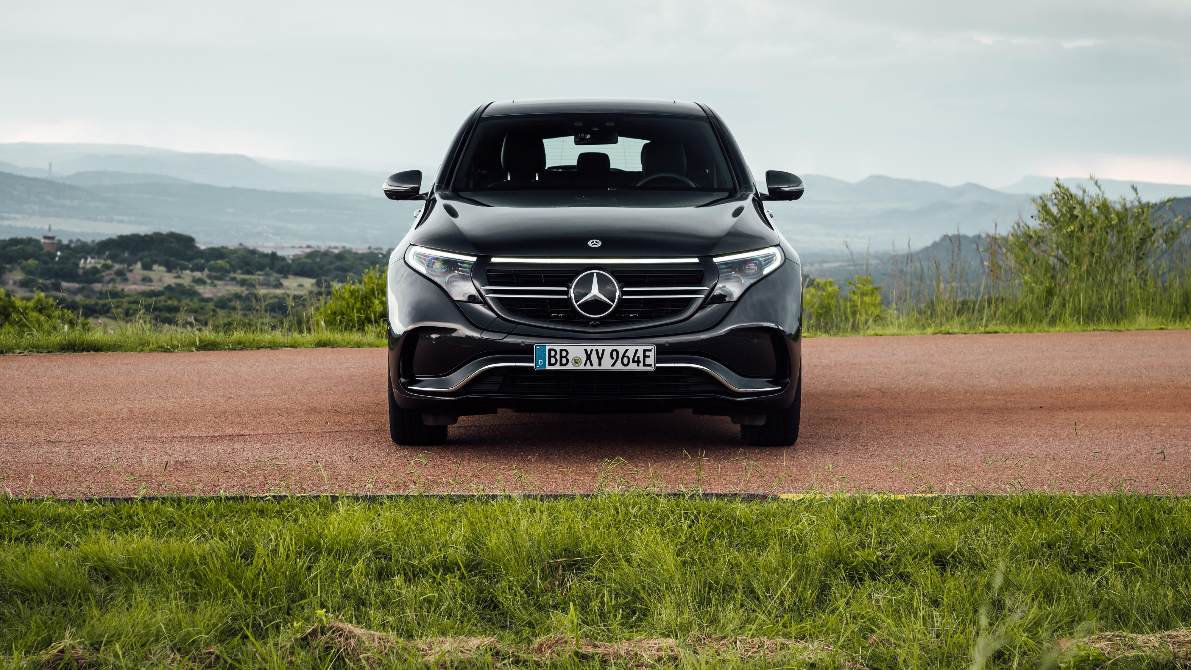 Mercedes Benz EQC 400 4MATIC AMG Line 2019 4K Wallpaper HD Car 4000x2250