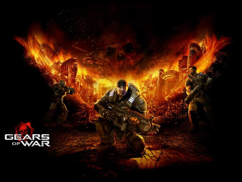 Gears of war wallpaper   1 Games wallpaper 1024x768
