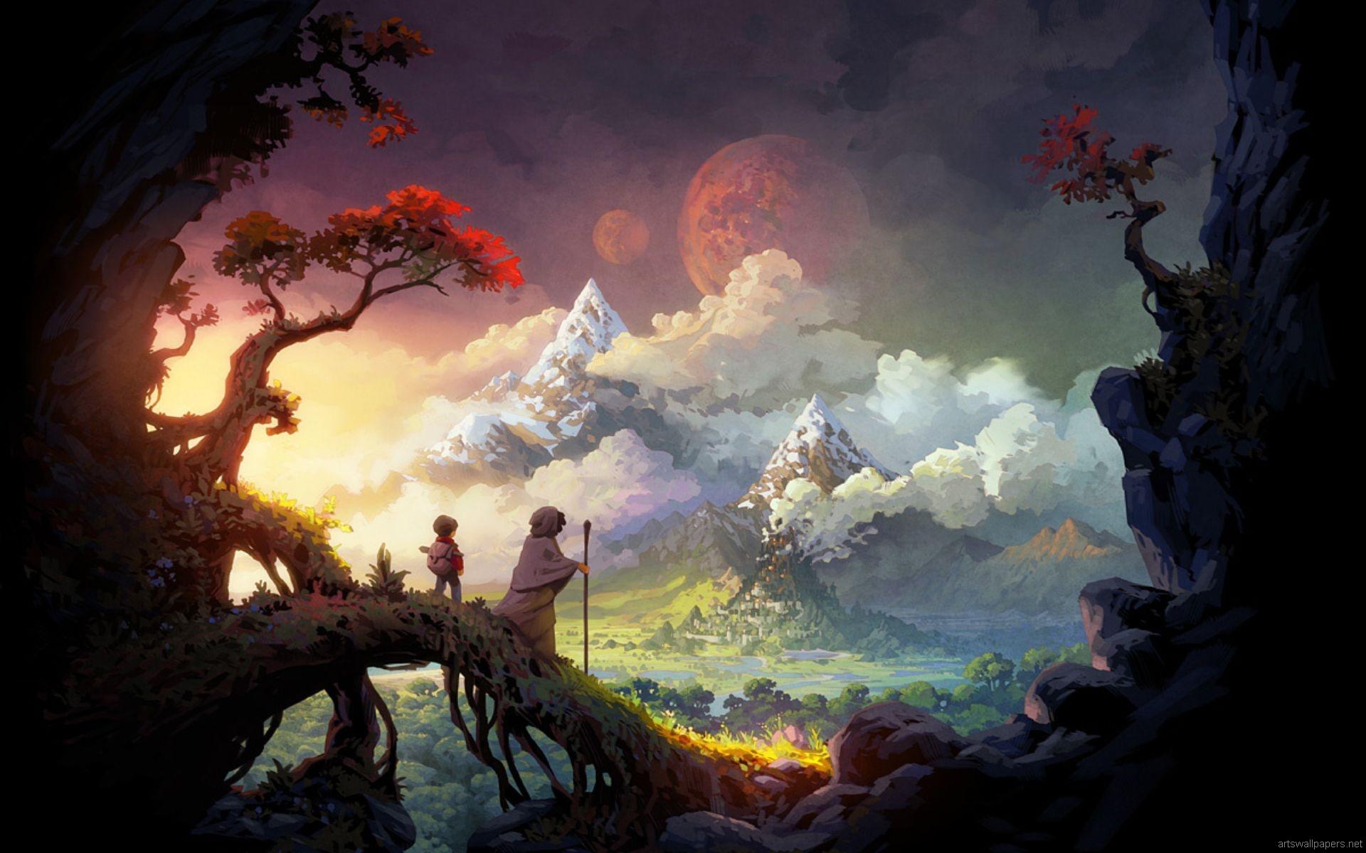 Fantasy Wallpapers HD Widescreen - WallpaperSafari