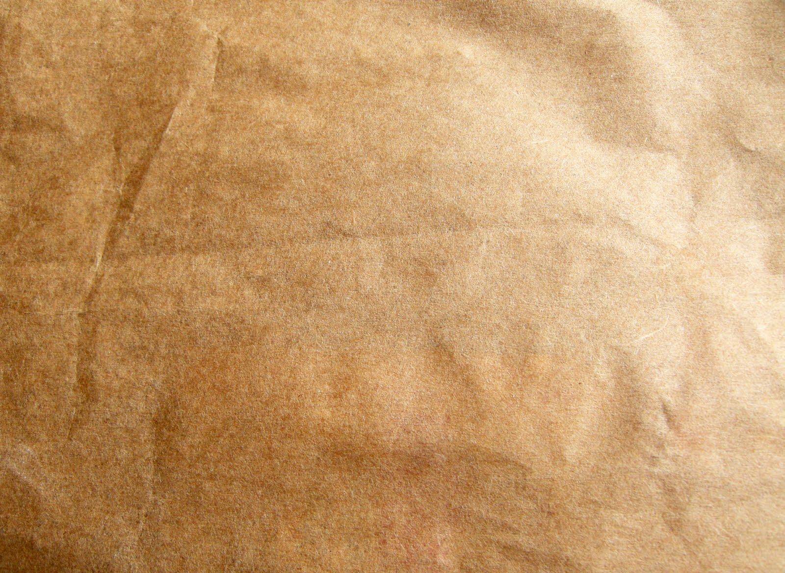 brown paper bags as wallpaper