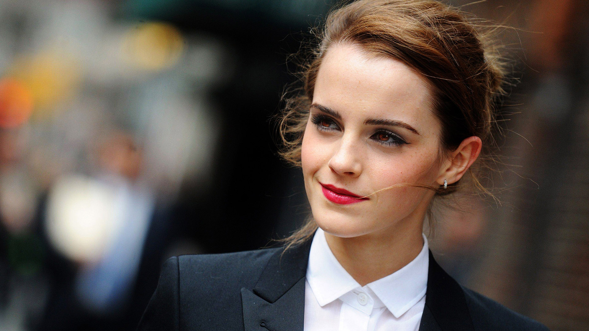 Free Download Emma Watson Actress Smile Red Lips Hd Background Wallpaper 1920x1080 For Your Desktop Mobile Tablet Explore 26 Hollywood Actress Full Hd Wallpaper Hollywood Actress Full Hd Wallpaper