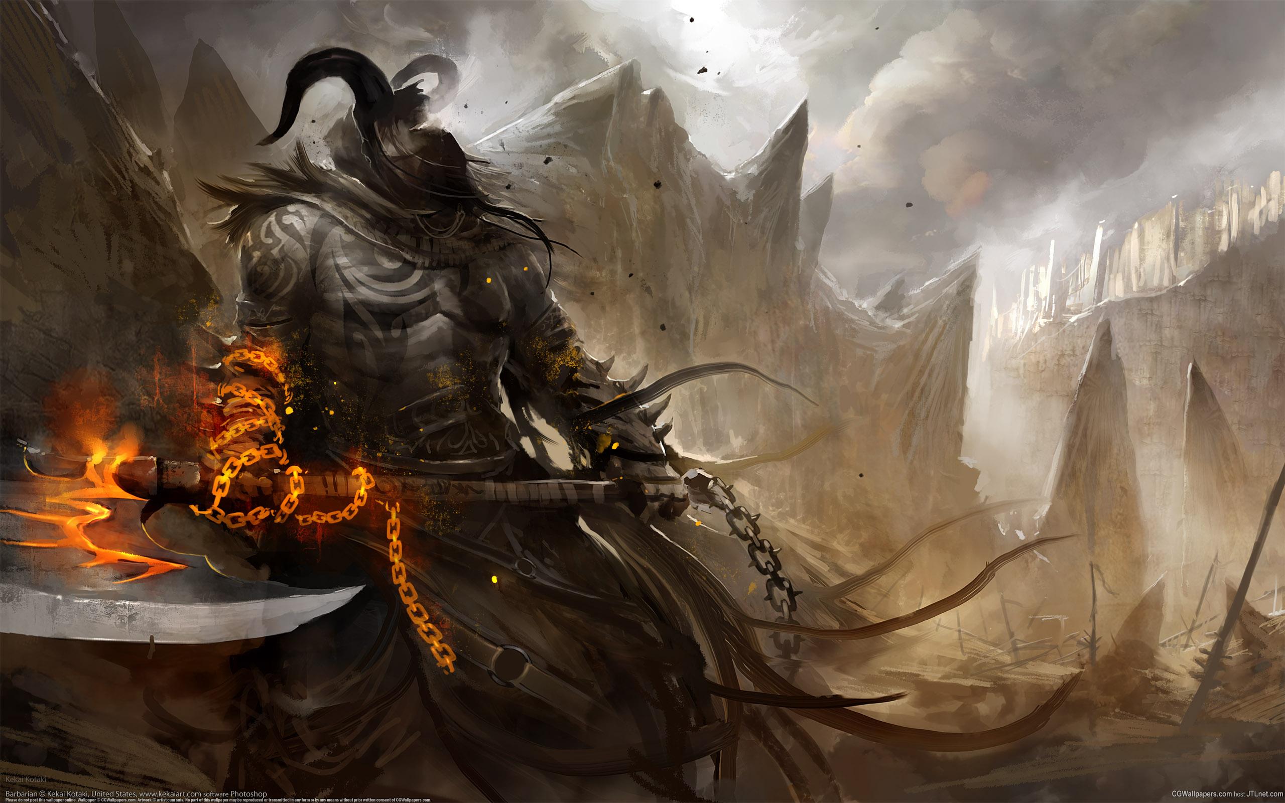 Barbarian wallpaper 2560x1600