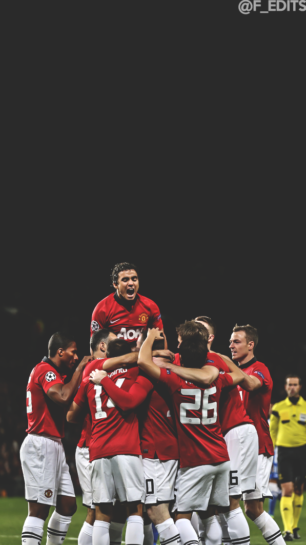 F EDITS Manchester United wallpaper  requested by anon 597x1062