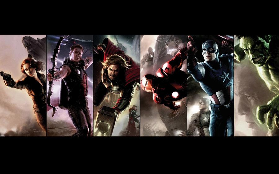 the avengers wallpaper 900x563