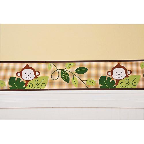 Lil Kids   M is for Monkey Wall Border   Walmartcom 500x500