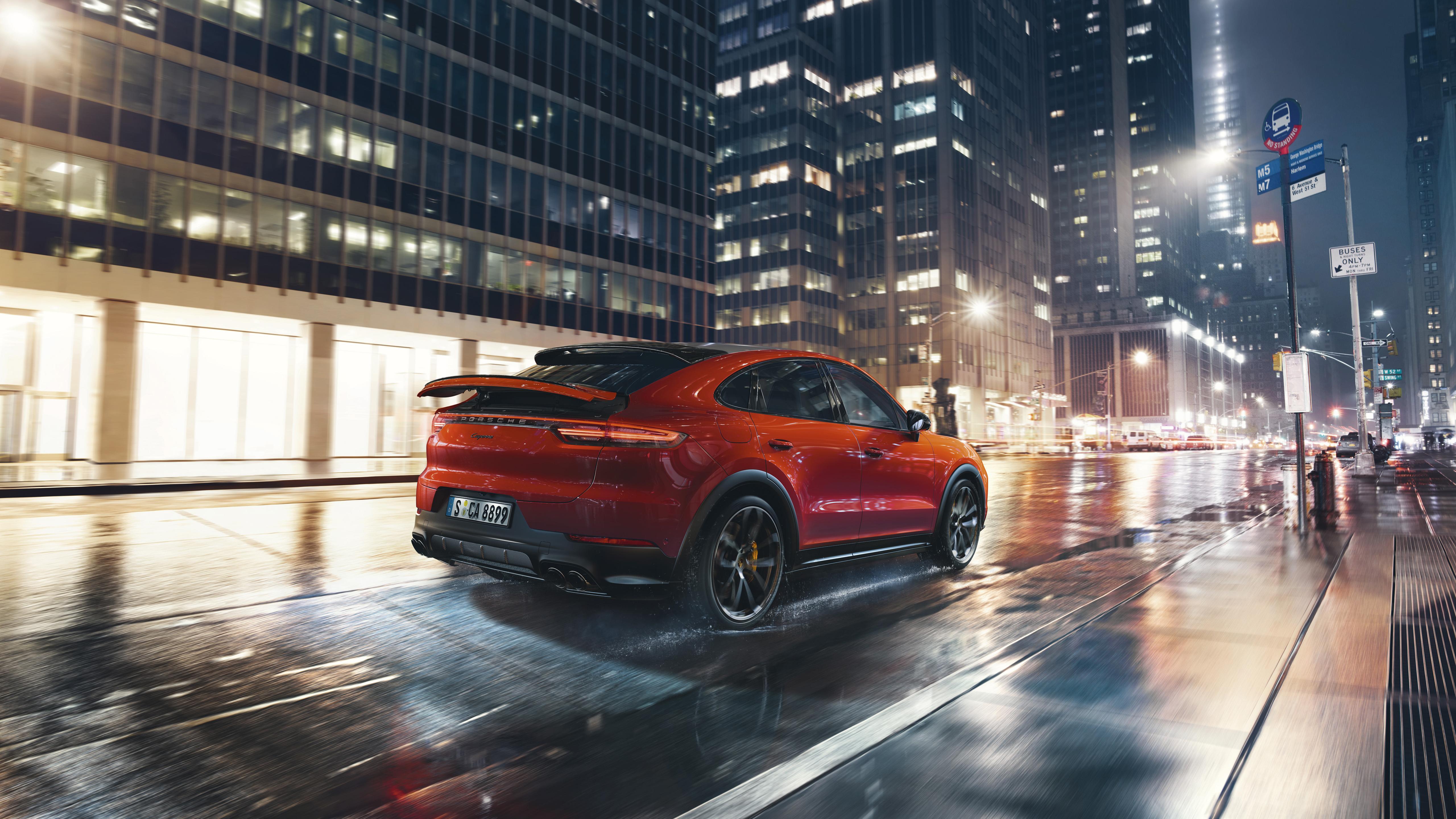 Porsche Cayenne Coupe 2019 4K 4 Wallpaper HD Car Wallpapers ID 5120x2880