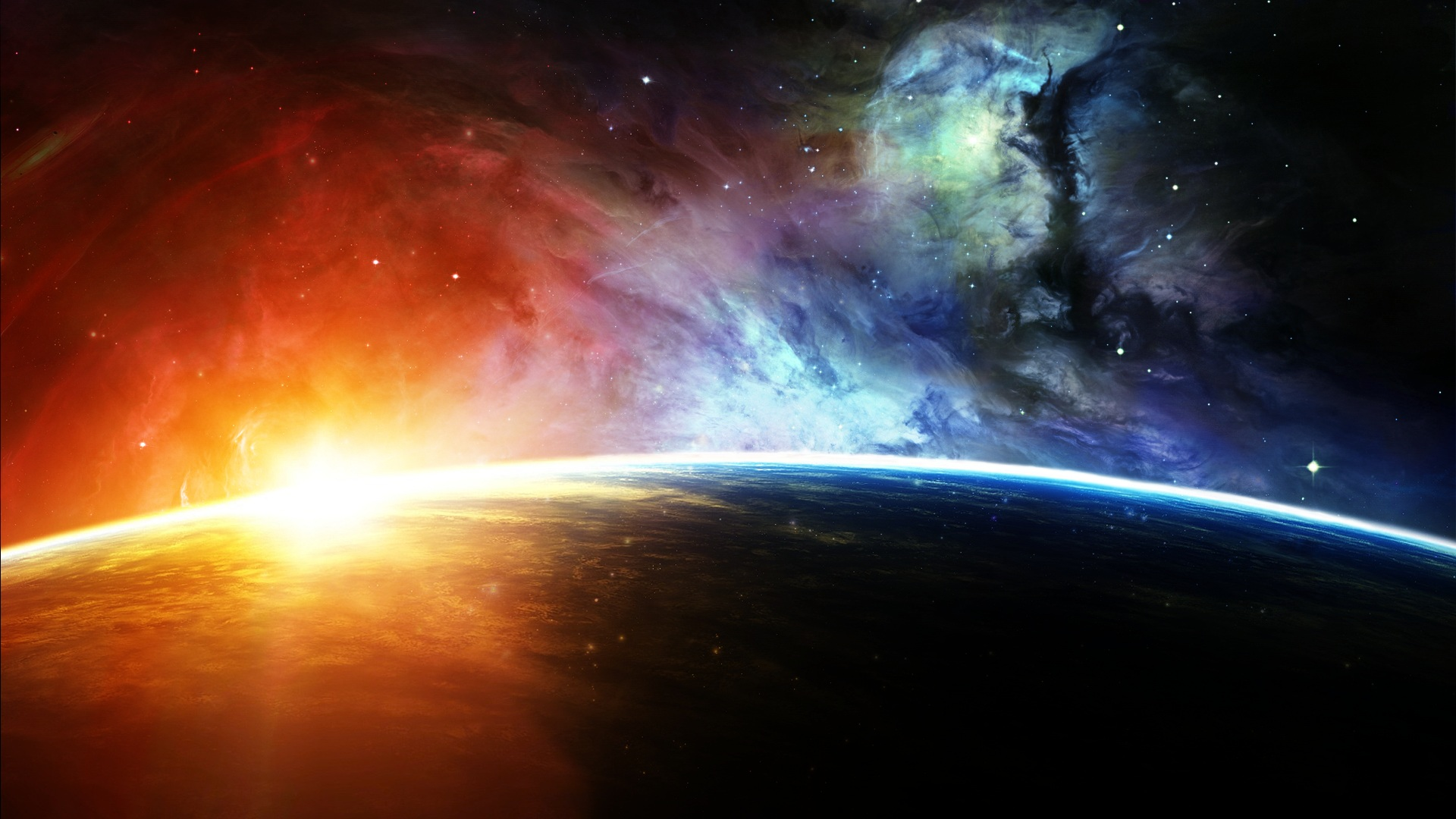 planets Sci Fi Wallpaper Background 39543 1920x1080