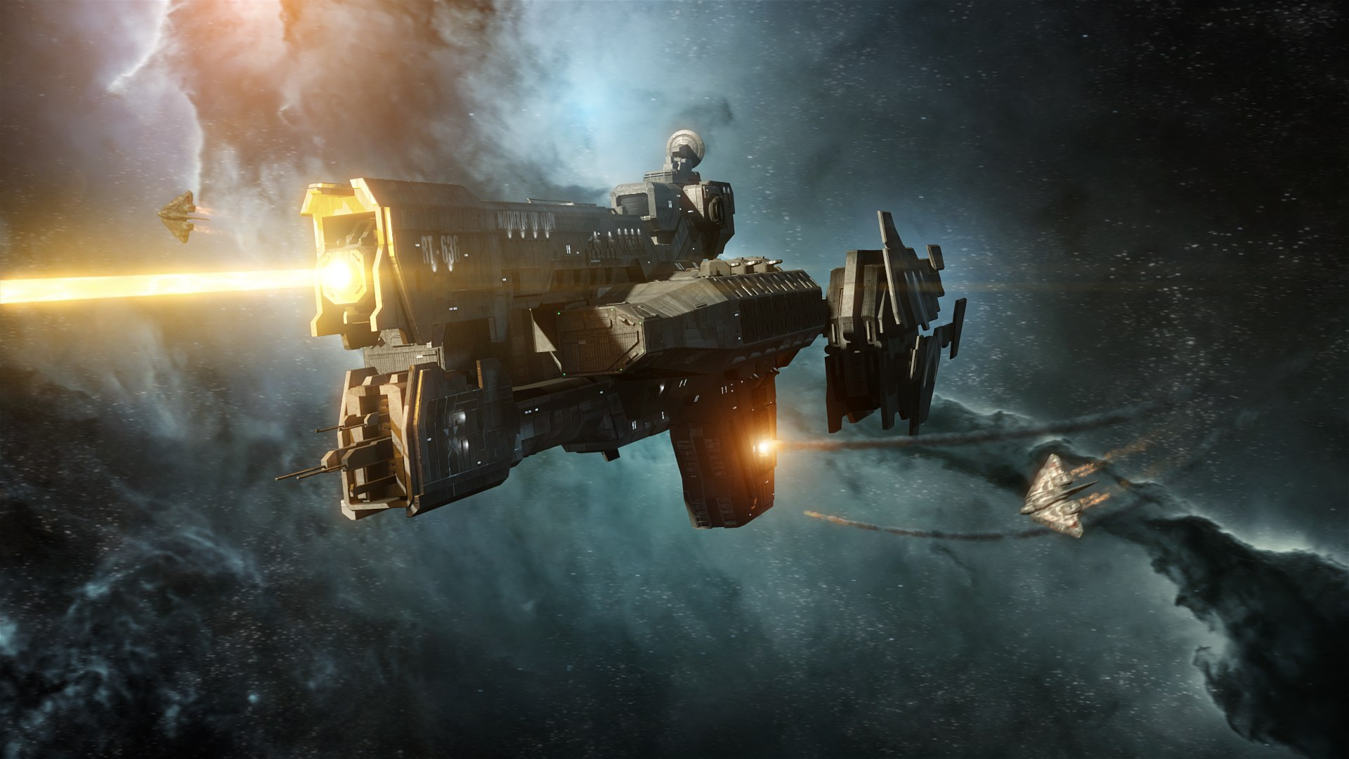 High Resolution Amazing Sci Fi Space Battle Wallpaper HD 9 1920x1080
