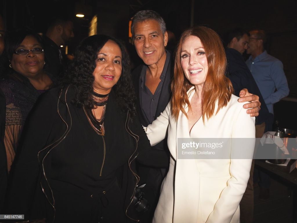 Rochelle Hicks George Clooney and Julianne Moore attend the 1024x768