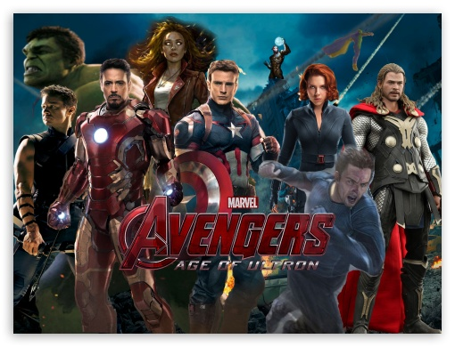 Marvel The Avengers Age Of Ultron HD wallpaper for Standard 43 510x390