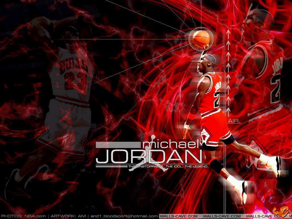 Michael Jordan Dunking Wallpapers 1024x768