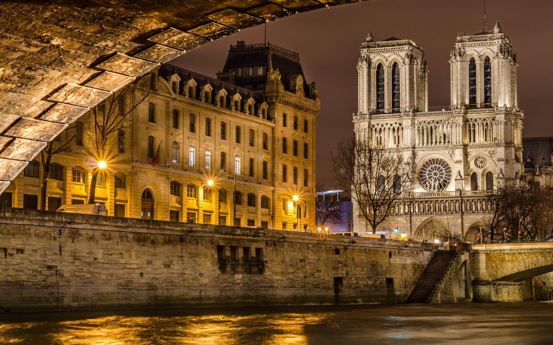 38 Notre Dame De Paris Wallpapers On Wallpapersafari
